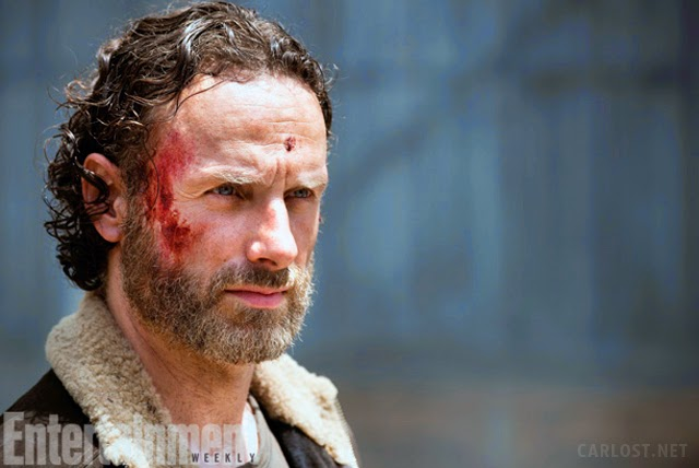Rick Grimes en la quinta temporada The Walking Dead
