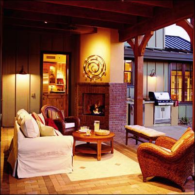 suscapea: southwestern living room design ideas