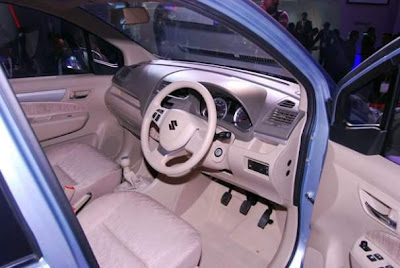 2012 Maruti Suzuki Ertiga India review Interior