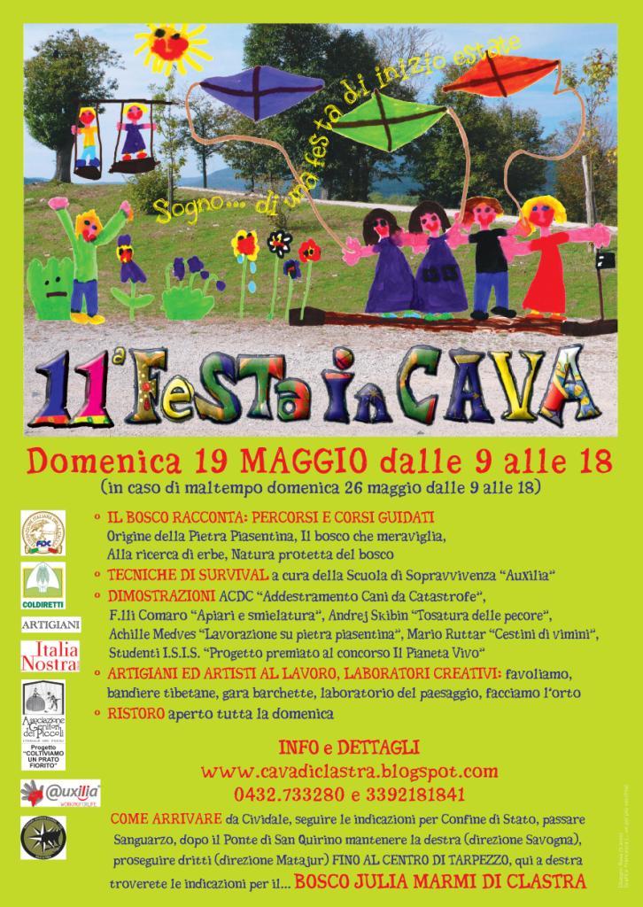 LOCANDINA FESTA IN CAVA 2019