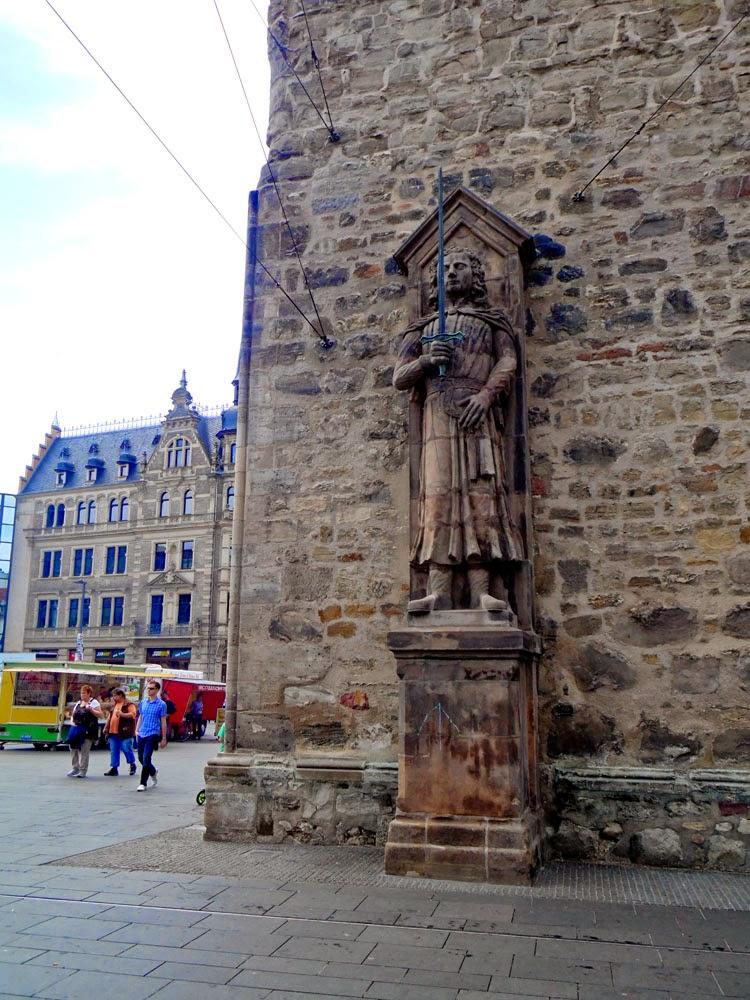Roland Statue on the Marktplatz, Halle