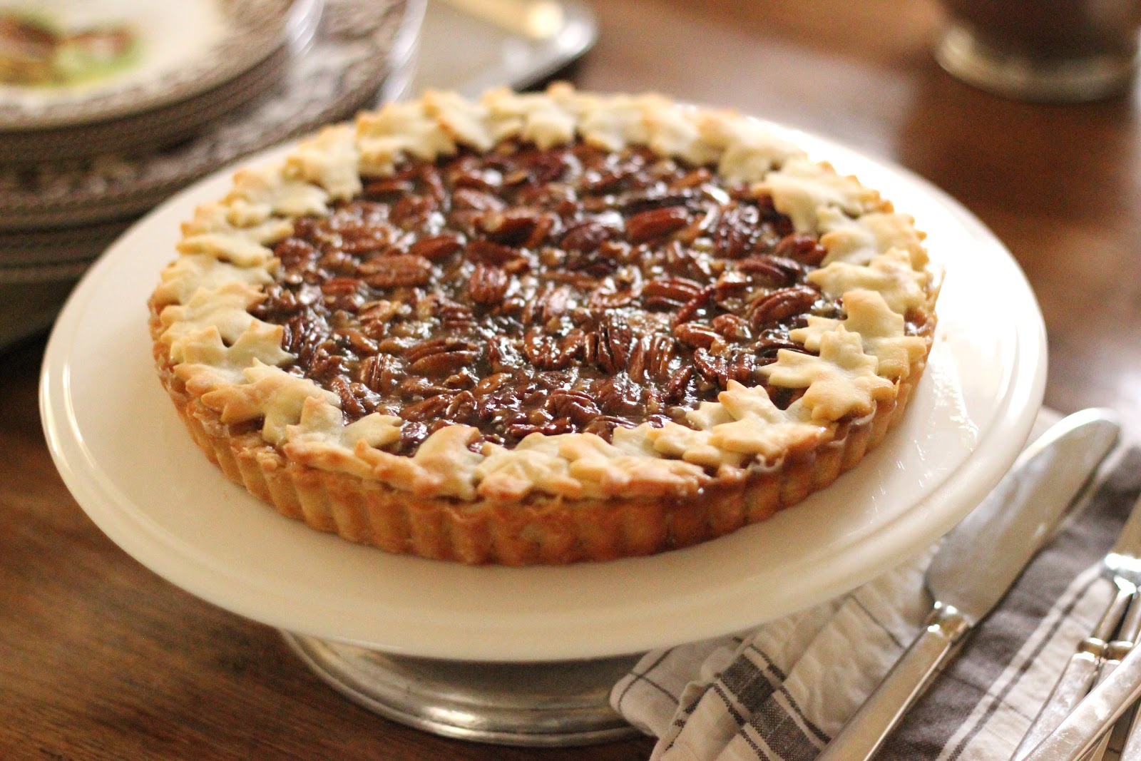 ... : Repost : Pecan Tart | A New Twist on a Classic Pecan Pie Recipe