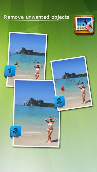 How To Erase Unwanted Things From Photo In iPhone (Cracked app)