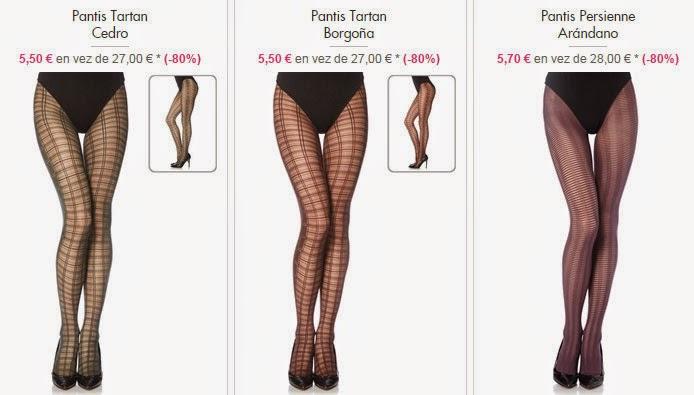 Ejemplos de pantis elegantes y muy baratos