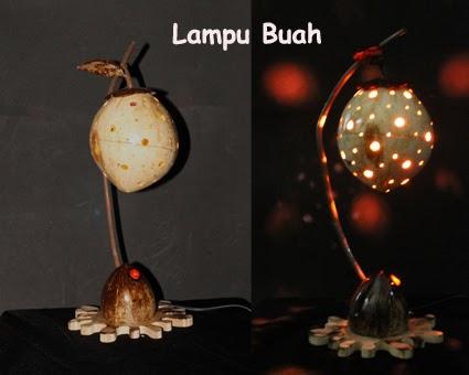 boellam collection: cara membuat lampu hias unik dari batok kelapa