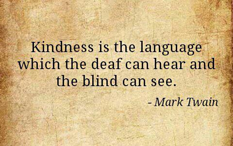 Kindness quotes mark twain
