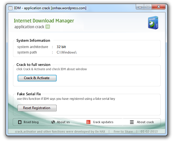 crack internet  manager gratis