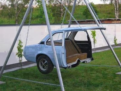 Cool way to recycle car!