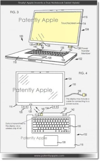 Technology Apple Hybrid Laptop Concept