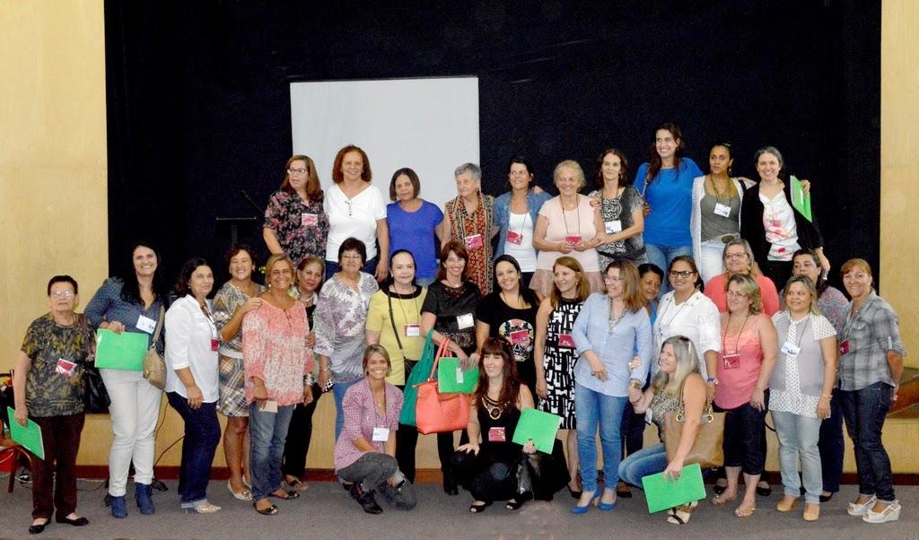 Conselheiras titulares e suplentes eleitas para a gestão 2015-2017 do Conselho de Defesa dos Direitos da Mulher de Teresópolis