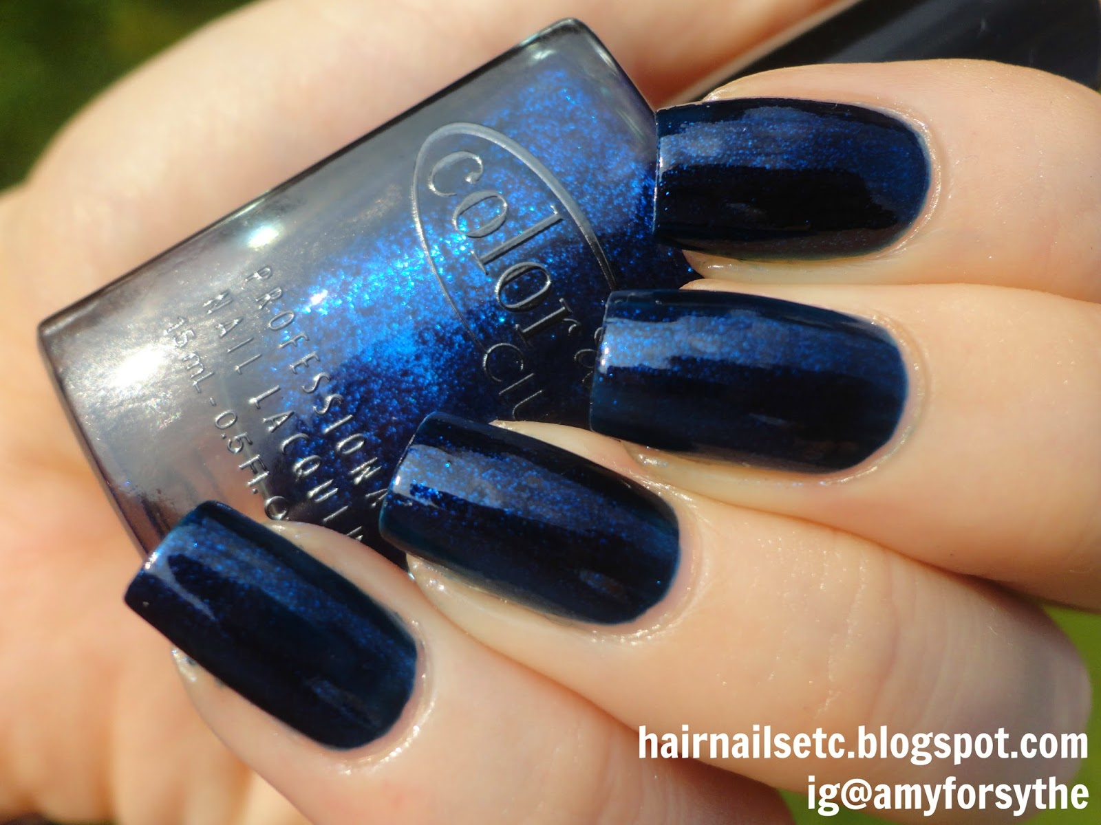 Swatch and Review of Color Club Nail Lacquer in Williamsburg from Girl About Town Collection, Fall 2013