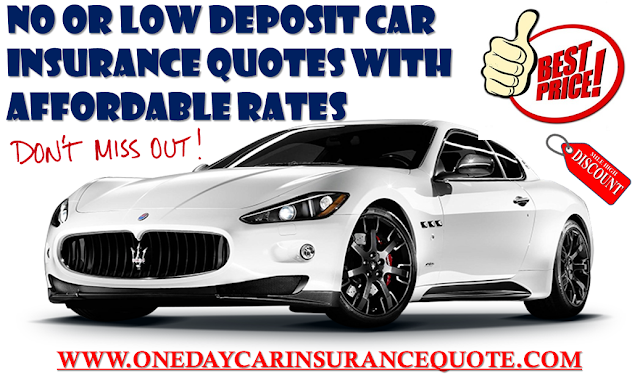 No Deposit Car Insurance Quote With Monthly Payments Auto - No deposit car insurance