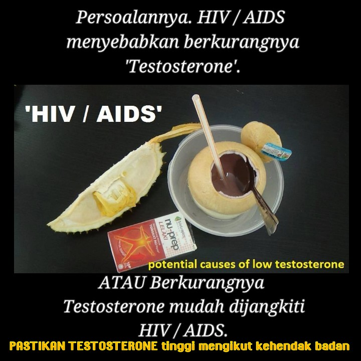 HIV . AIDS, Potential Causes of Low Testosterone.