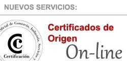 Certificados de Origen On-line