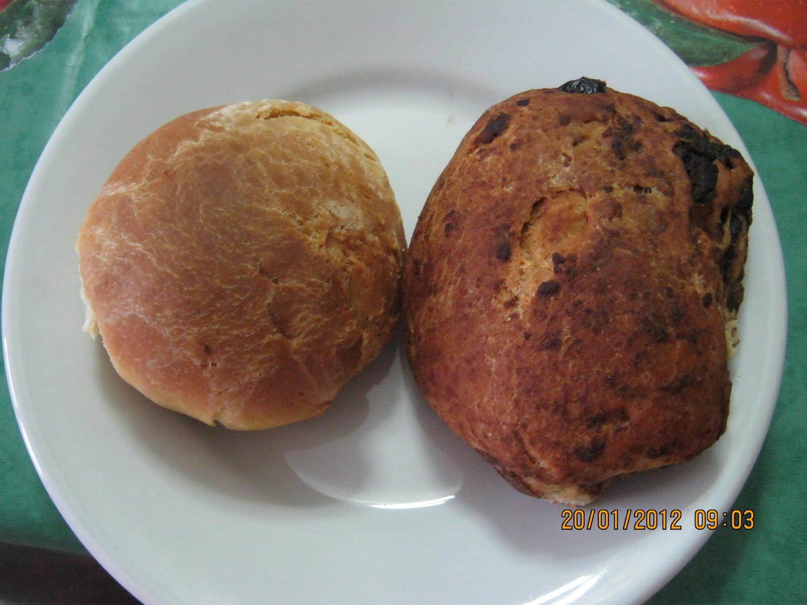 La cucina di papavero panini al latte di capra farciti e con olive - La cucina della capra ...