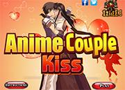 Anime Couple Kiss juegos de besos
