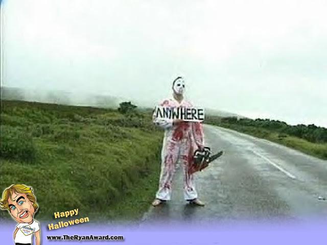Funny Halloween costume - Jason