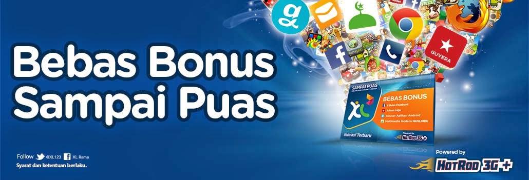 Bebas Bonus Sampai Puas XL