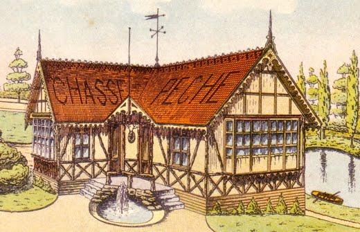 Le Pavillon Chasse et Pêche et ses aquariums
