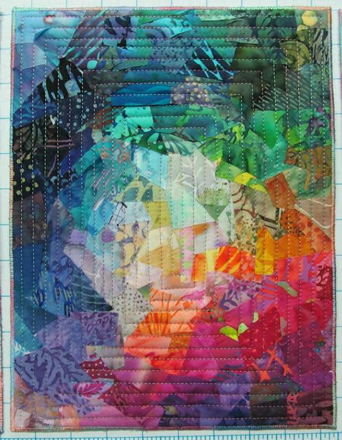 Quilt Inspiration: Exuberant Color : color wash quilts - Adamdwight.com