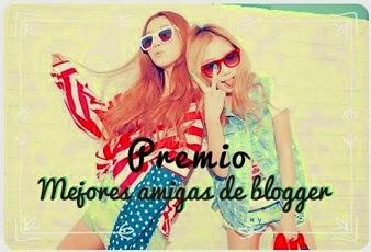 I Premio mejores amigas de Blogger
