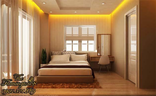 phòng ngủ căn hộ flemington