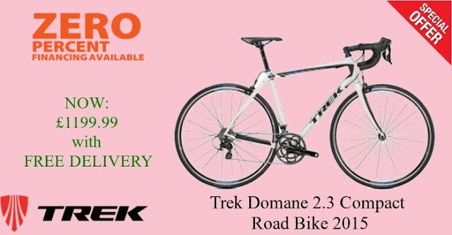 2015 Road Bike: Trek Domane 2.3 Compact