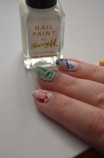 Barry M nail art