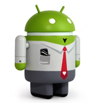 Android business app logo