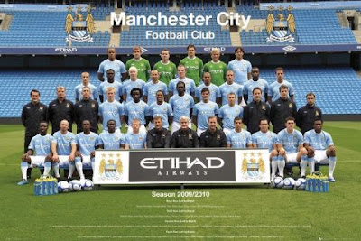 Manchester City Football Players