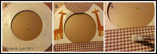 Make your own giraffe clock