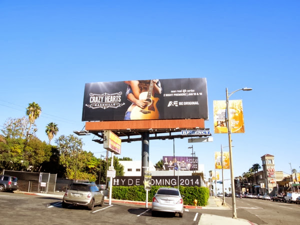 Crazy Hearts Nashville billboard