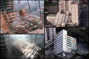gedung runtuh