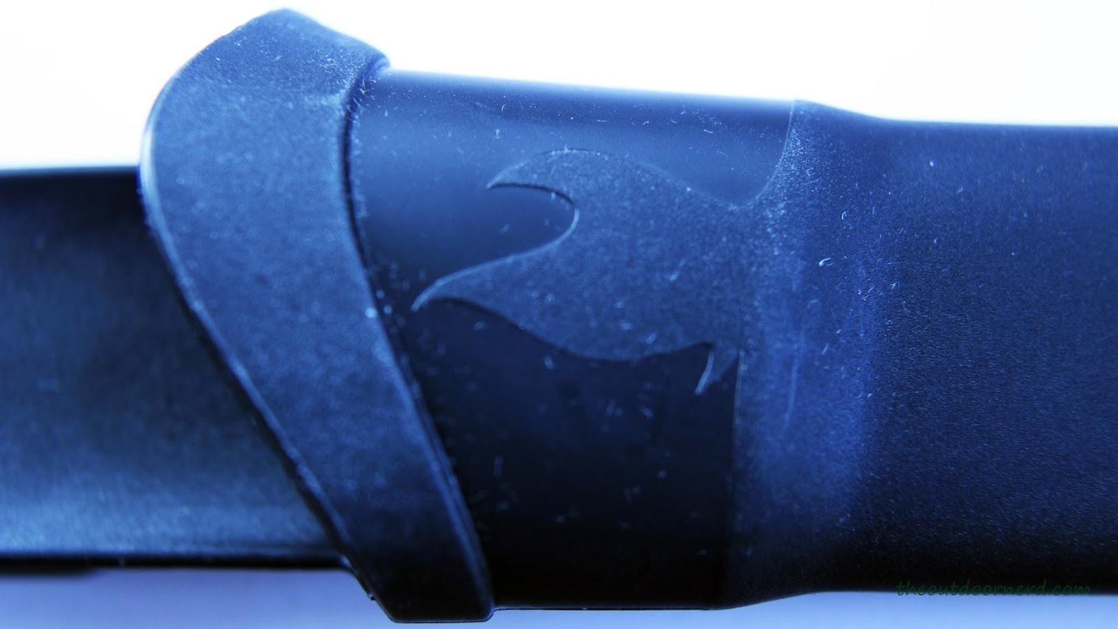 Light My Fire Swedish FireKnife: Closeup Of Sheath (Front)
