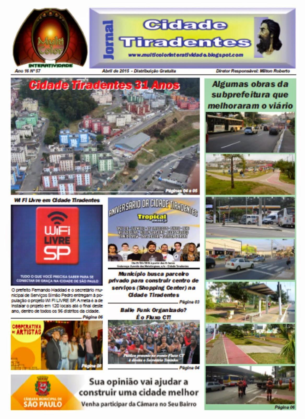 Jornal Cidade Tiradentes 56