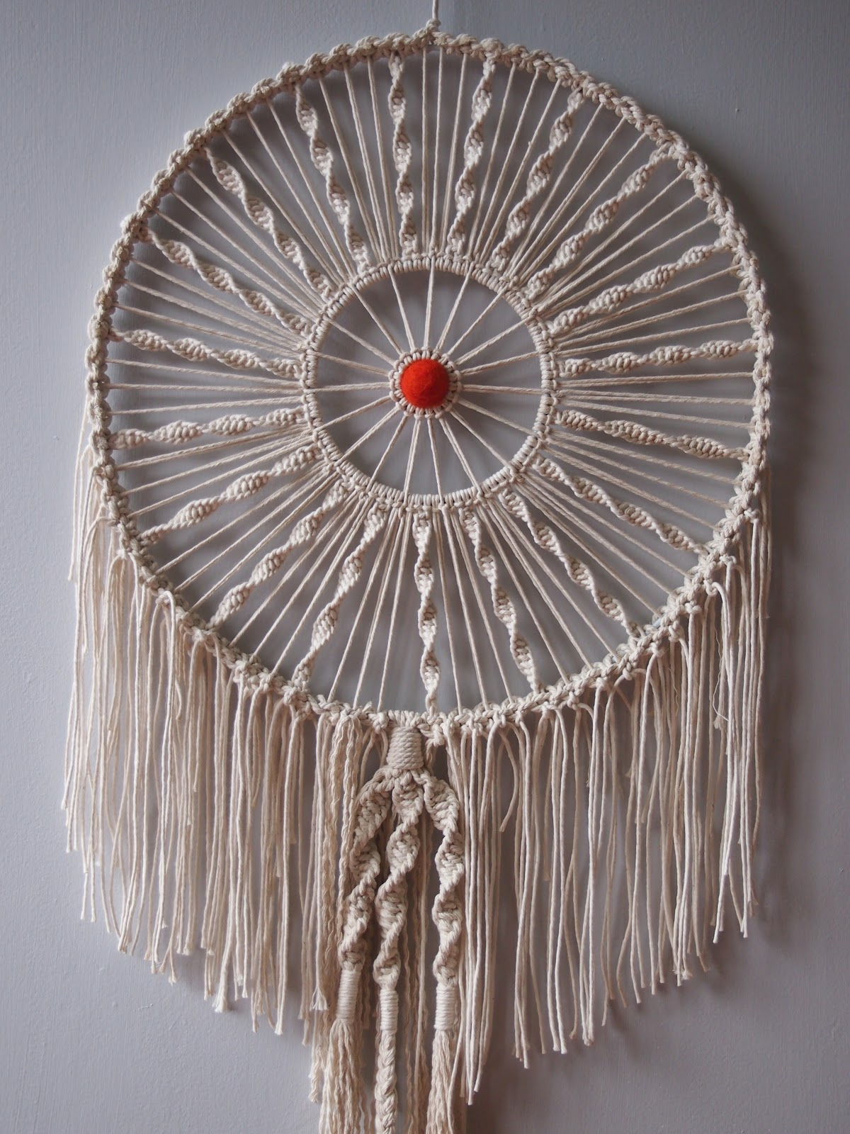 Stuff that makes my heart beat faster macrame revisited for Dreamcatcher weave patterns
