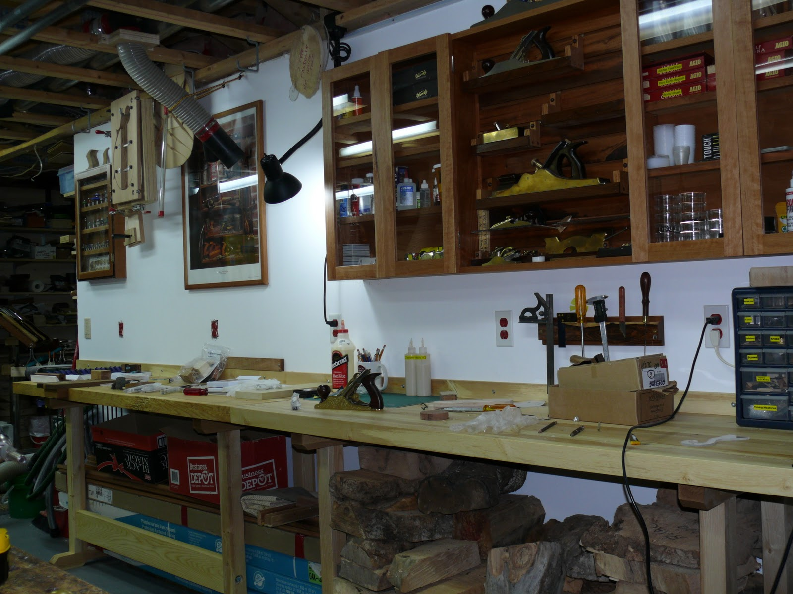 Rich's Woodcraft: Workshop ver 2.0 complete.