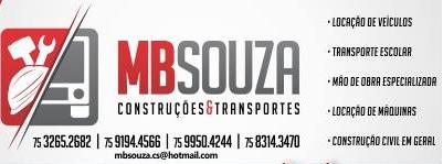 MB SOUZA CONSTRUÇÕES E TRANSPORTES