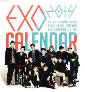 exo calendar 2014