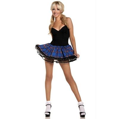 school girl costume viktor viktoria