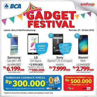 Samsung Galaxy A8 Rp 6.199.000 di Makassar Gadget Festival -  Erafone