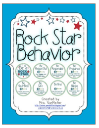 http://www.teacherspayteachers.com/Product/Rock-Star-Behavior-717004