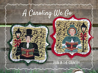 A Caroling We Go Punch Needle Pattern $5.50