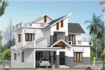 Modern House Elevation In 2240 Sq.feet - Kerala Home
