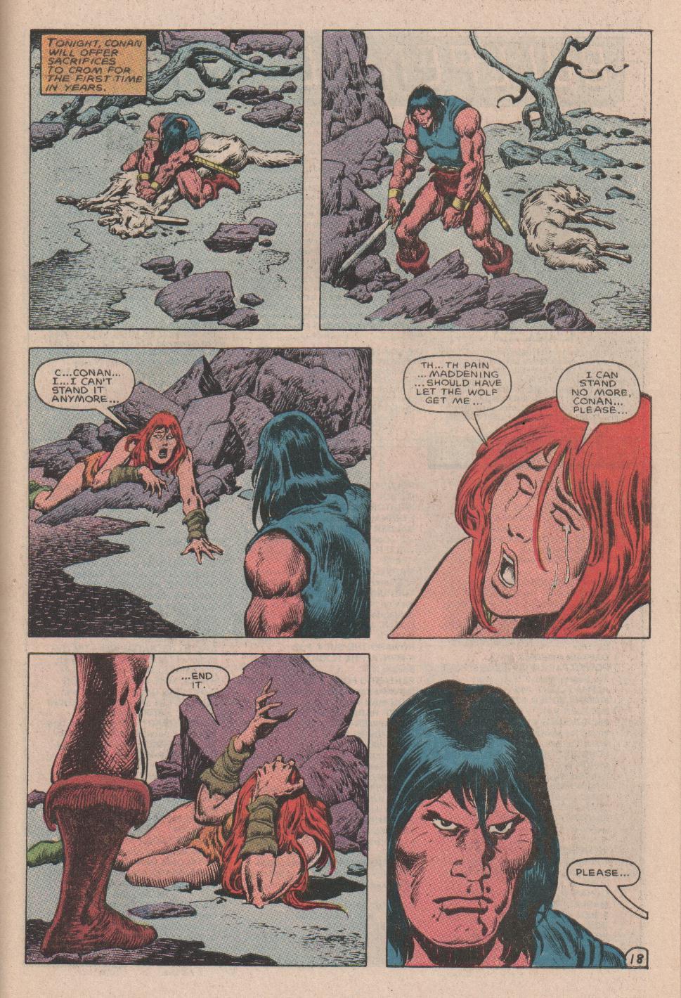 Conan the Barbarian (1970) Issue #178 #190 - English 19