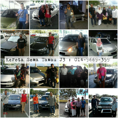 Tawau Car Rental Supporters