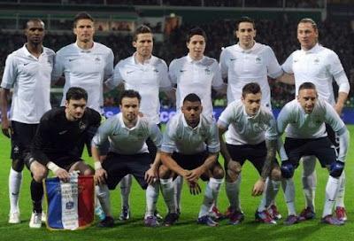 Skuad Perancis Euro 2012