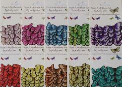 Self Adhesive Butterflies - FREE POSTAGE  AUSTRALIA WIDE