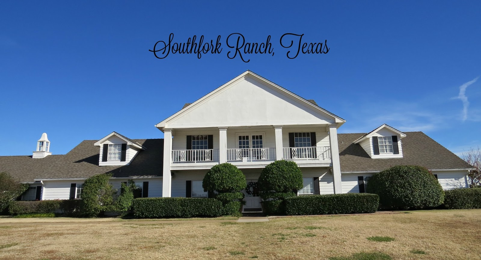 The lavender bouquet christmas tour at southfork ranch for Home pictures