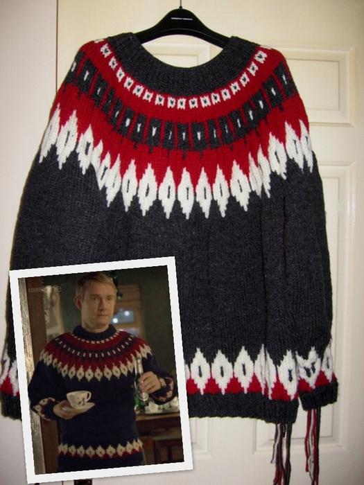 Люди уже сделали тот свитер